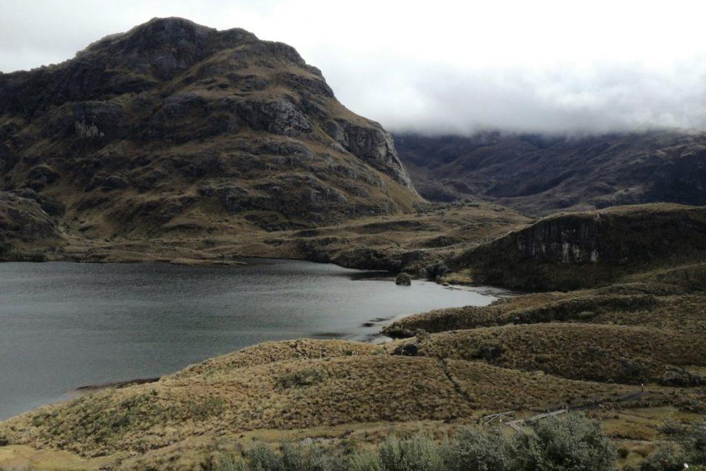 Parco Nazionale Cajas, nei pressi di Cuenca, Ecuador