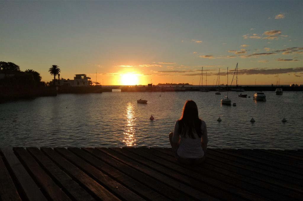 Colonia del Sacramento al tramonto, Uruguay
