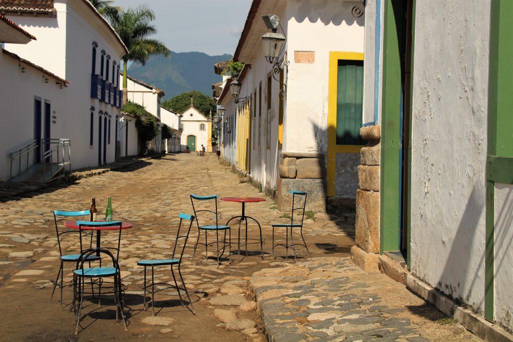 centro storico di Paraty, Brasile