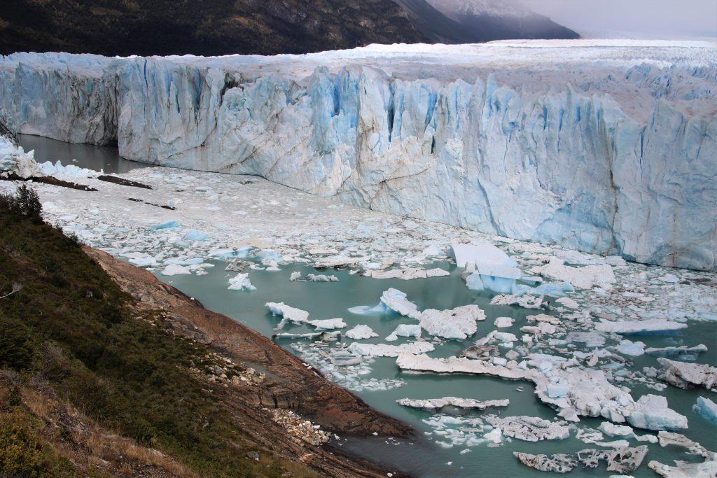 Visita Perito Moreno, El Calafate, Argentina