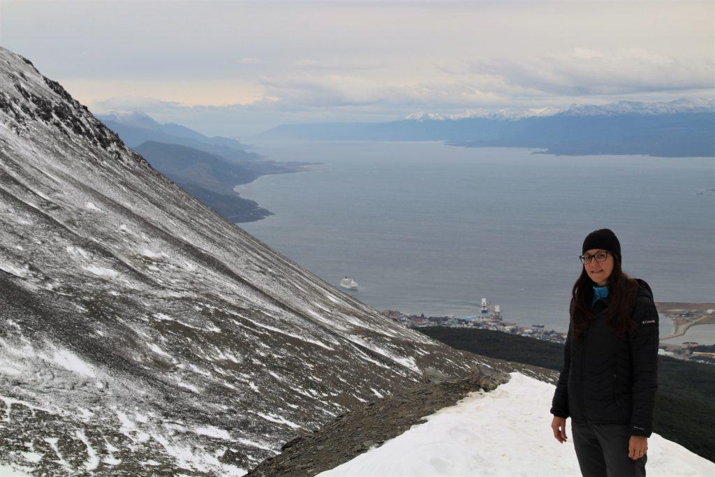 Panorama dal Glaciar Martial, Ushuaia, Argentina