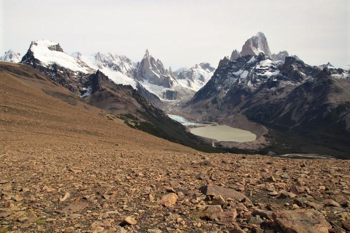 Trekking El Chalten - Loma del Pliegue Tumbado