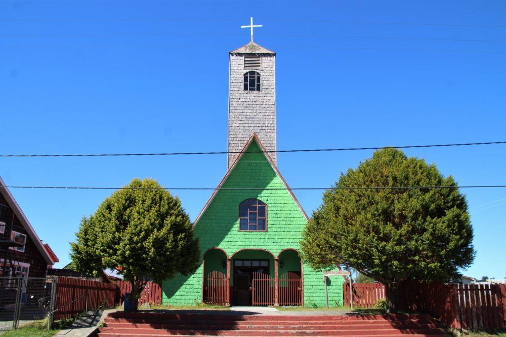 Isola di Chiloé - Chiesa in legno