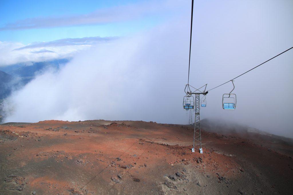 seggiovia vulcano osorno, Cile