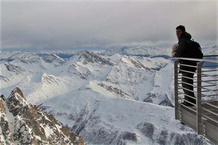 Panorama Skyway Monte Bianco