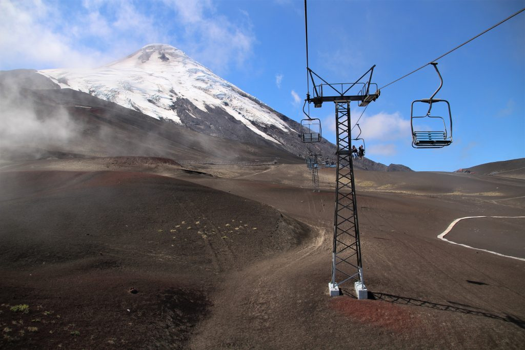 Vulcano Osorno, Punta Arenas