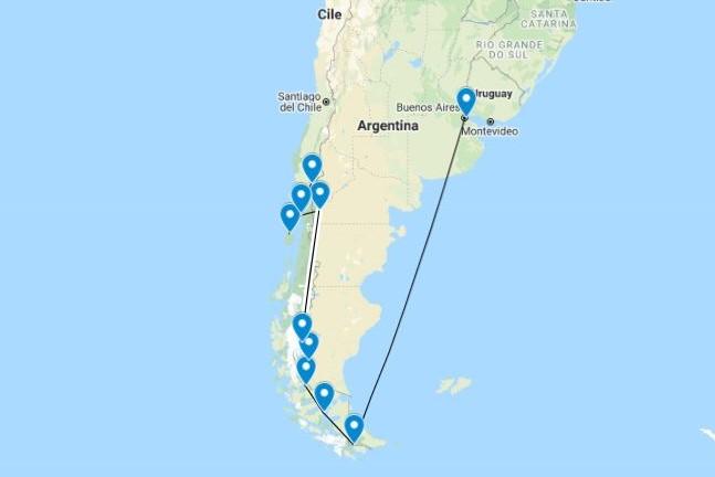 Organizzare un viaggio in Patagonia – Argentina e Cile