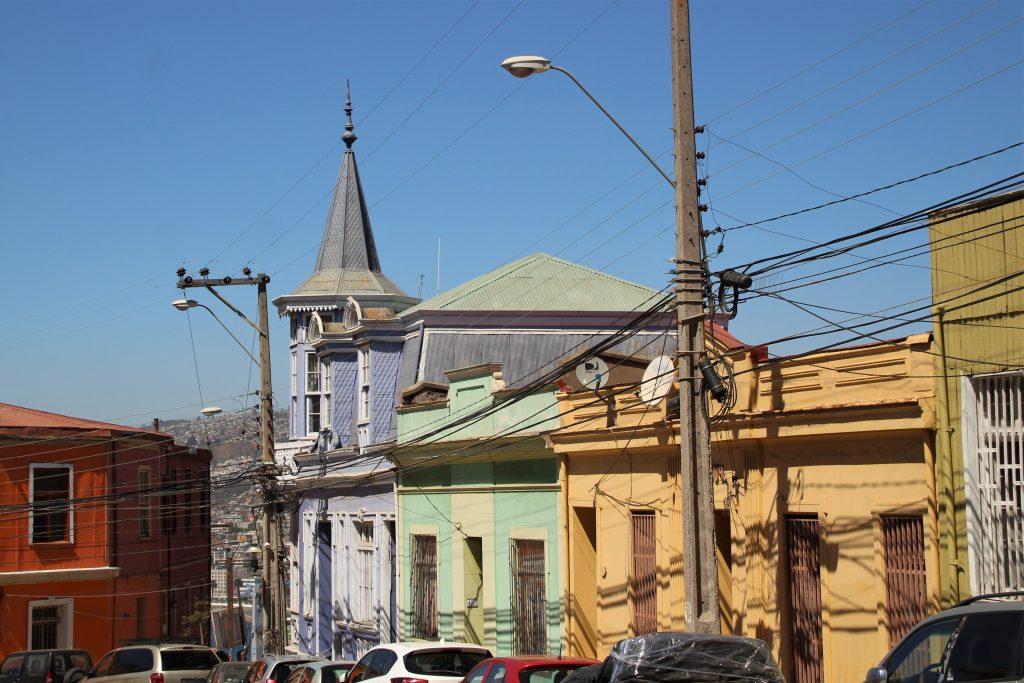 Case colorate, Cile