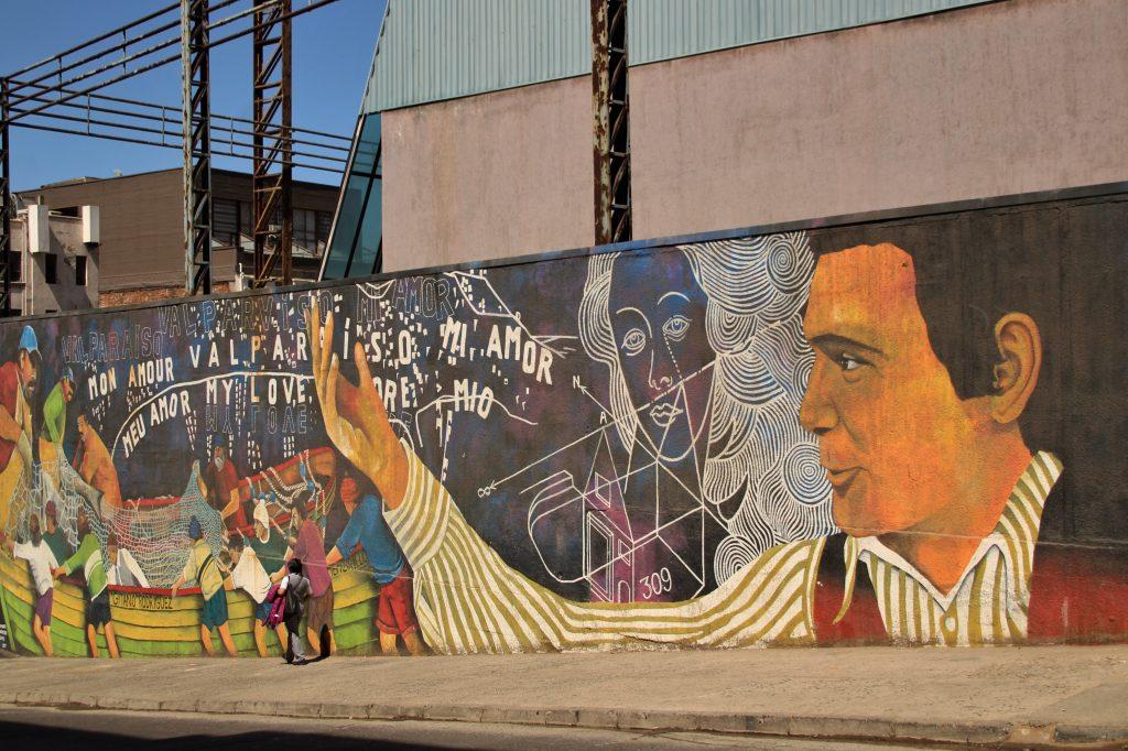 Street art, Cile