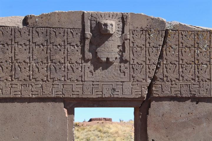 Sito archeologico Tiwanaku - Puerta del Sol